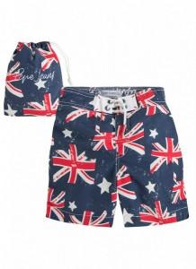 union jack shorts
