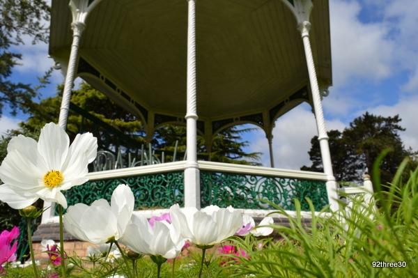 Bandstand at birmingham botanical gardens