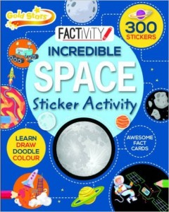 Factivity: Incredible Space Sticker