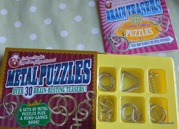 professor murphy's metal puzzles parragon books