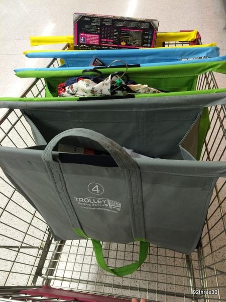 using trolley bags