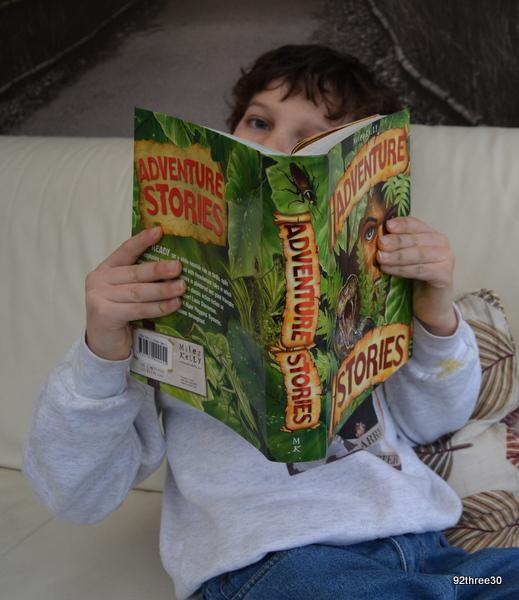 adventure stories book
