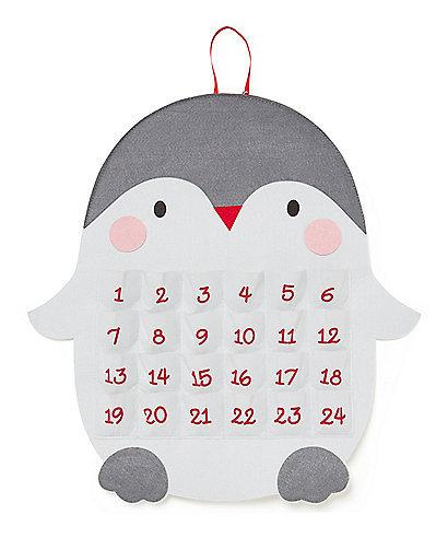 Hanging Penguin Advent Calendar