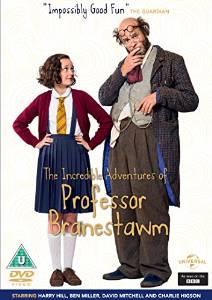 THE INCREDIBLE ADVENTURES OF PROFESSOR BRANESTAWM DVD