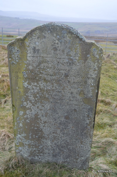 tombstone cholera cemetery