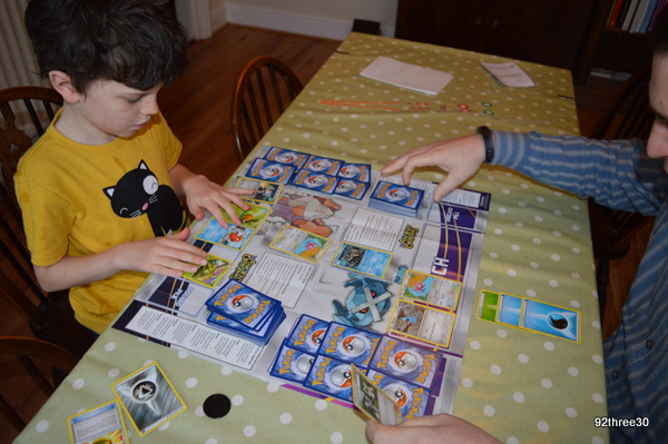 pokemon card game playing