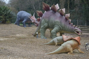 dinosaurs at Drayton Manor
