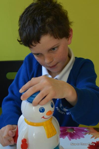 testing Mr Frosty