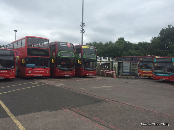 buses at rest