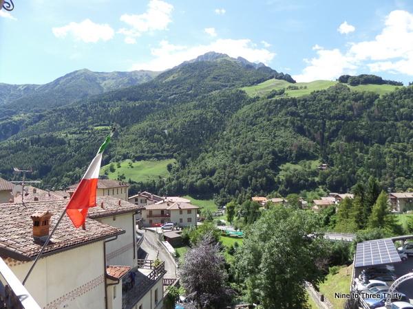 Ardesio near Bergamo Italian Alps