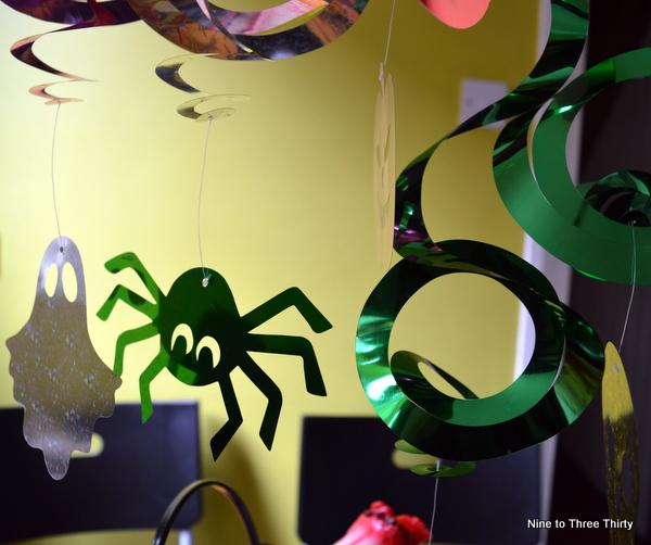 spider decoration