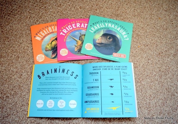 What's so Special about…? Dinosaurs books