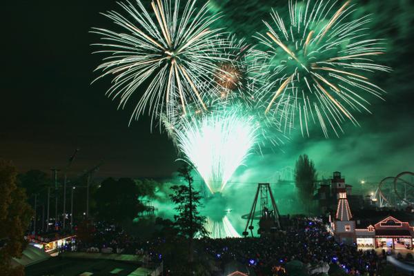 Drayton Manor Park's Fireworks Spectacular