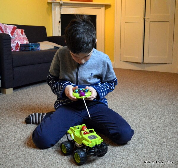 testing revell control junior