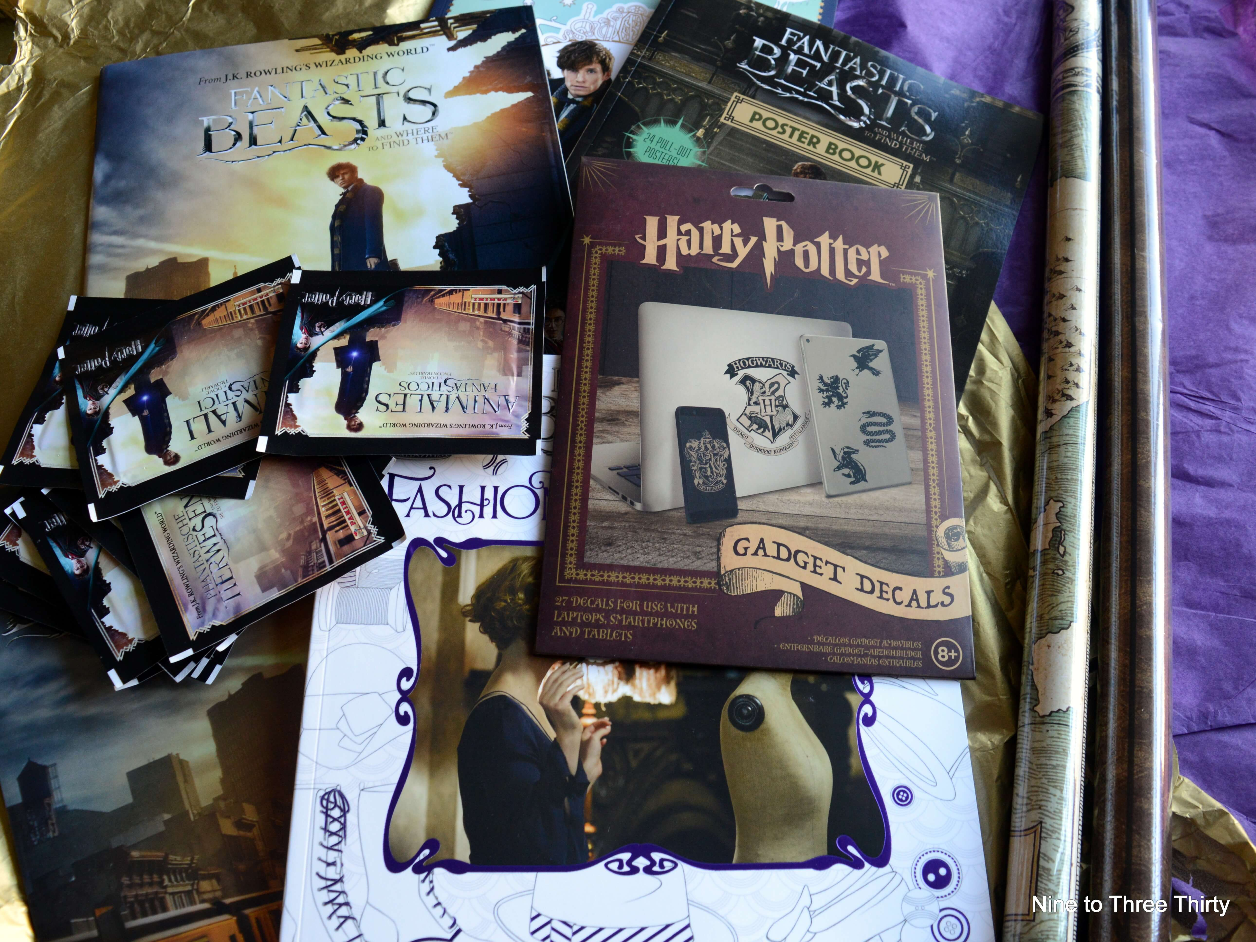 Fantastic Beasts and Where to Find them merchandise