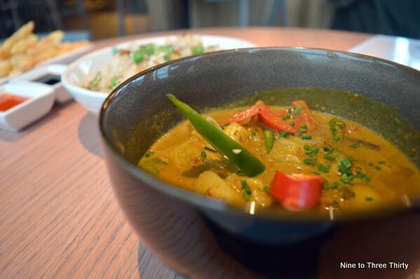 Vegetable Nyonya Curry