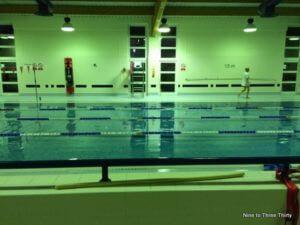 swimming pool blue coat school