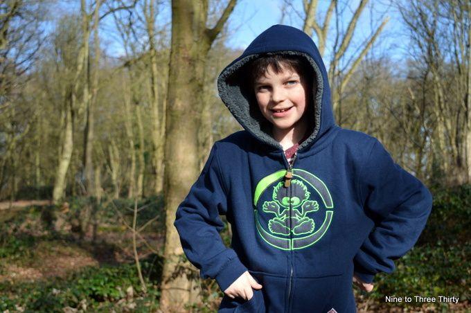 furlined boys hoodie