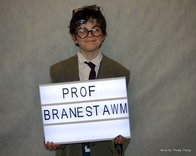 world book day professor