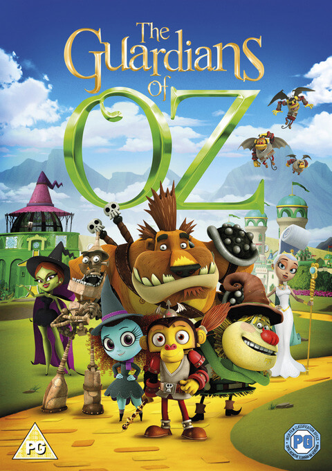 Guardians of Oz DVD cover