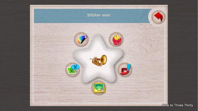 stickers rewards Ebookadabra