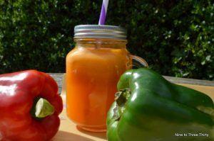 orange bell pepper smoothie