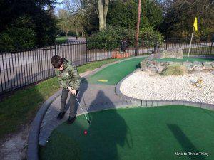 mini golf cannon hill
