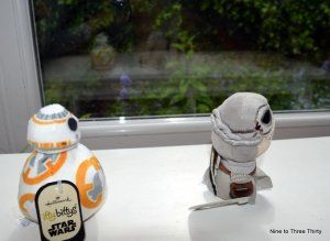 BB-8 and Rey plushies