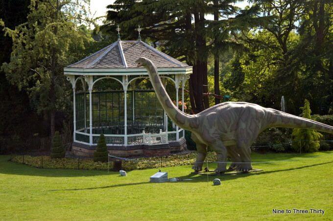 jurassic world at botanical gardens