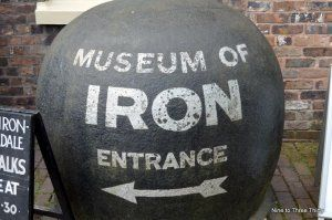 entrance to museum of iron