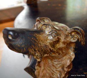 deerhound table leg