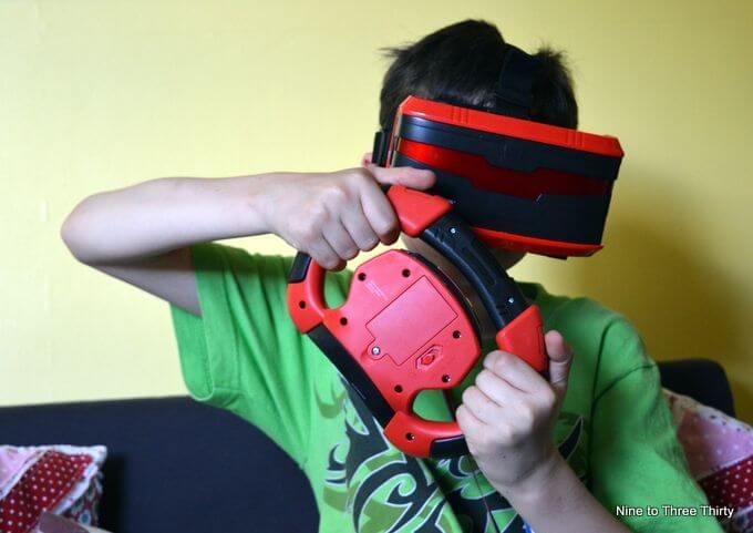 playing VR Real Feel Racing