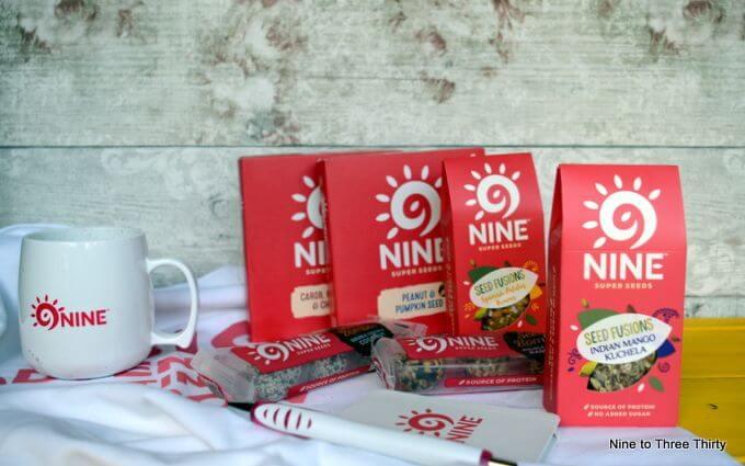 9NINE seed snacks