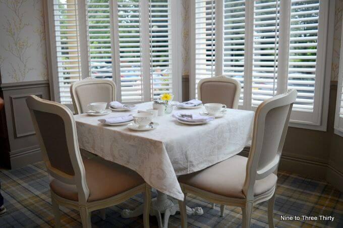 seating at laura ashley tea rooms