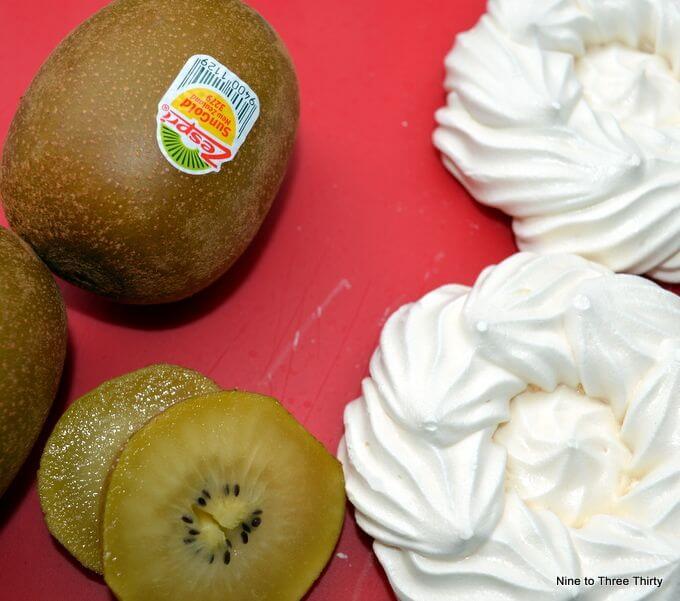Zespri® SunGold Kiwifruit Eton Mess