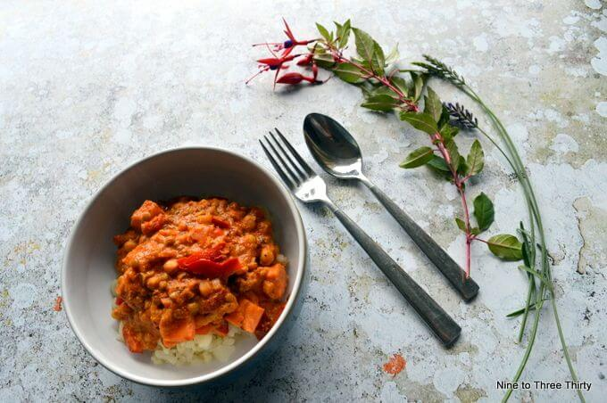 goodlife vegetable masala with cauliflower rice
