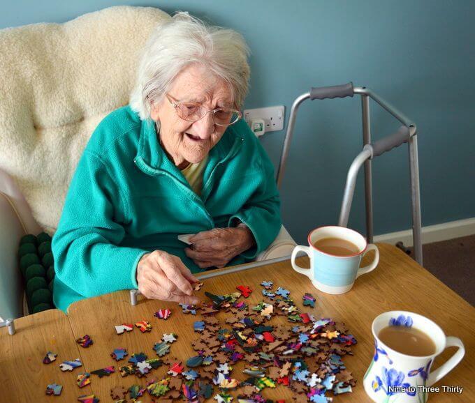 jigsaw grandmother