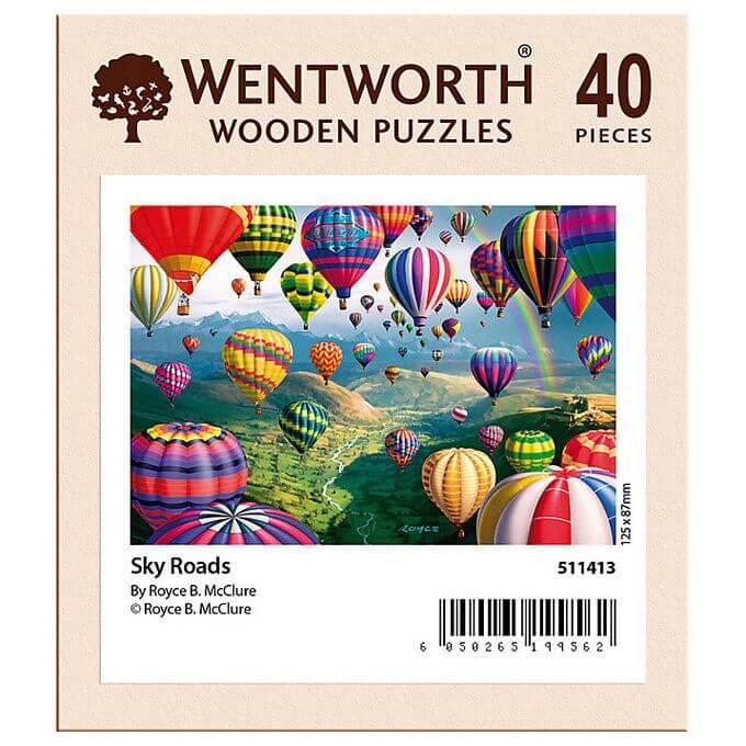 wentworth jigsaw puzzle hot air balloon