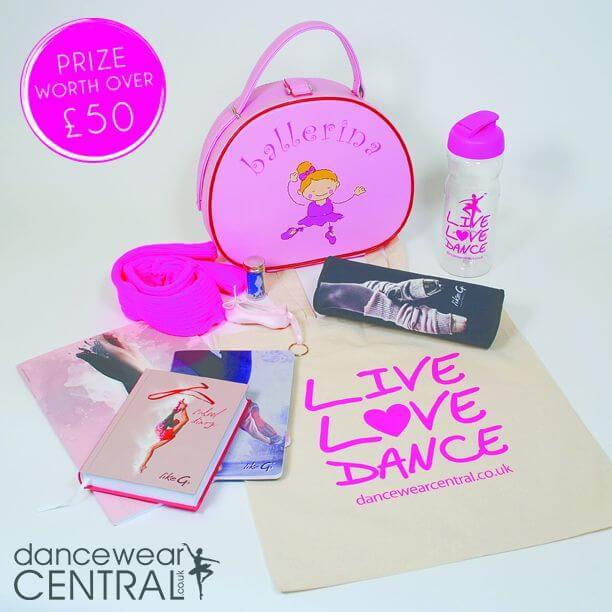 Dancewear Central prize