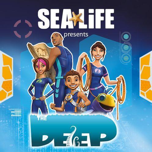 the deep at sea life