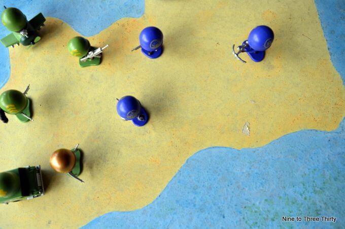battling soldier toys