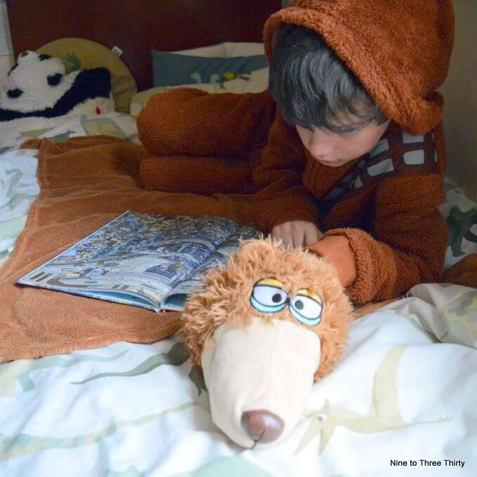 Wookie and Bear Blanket