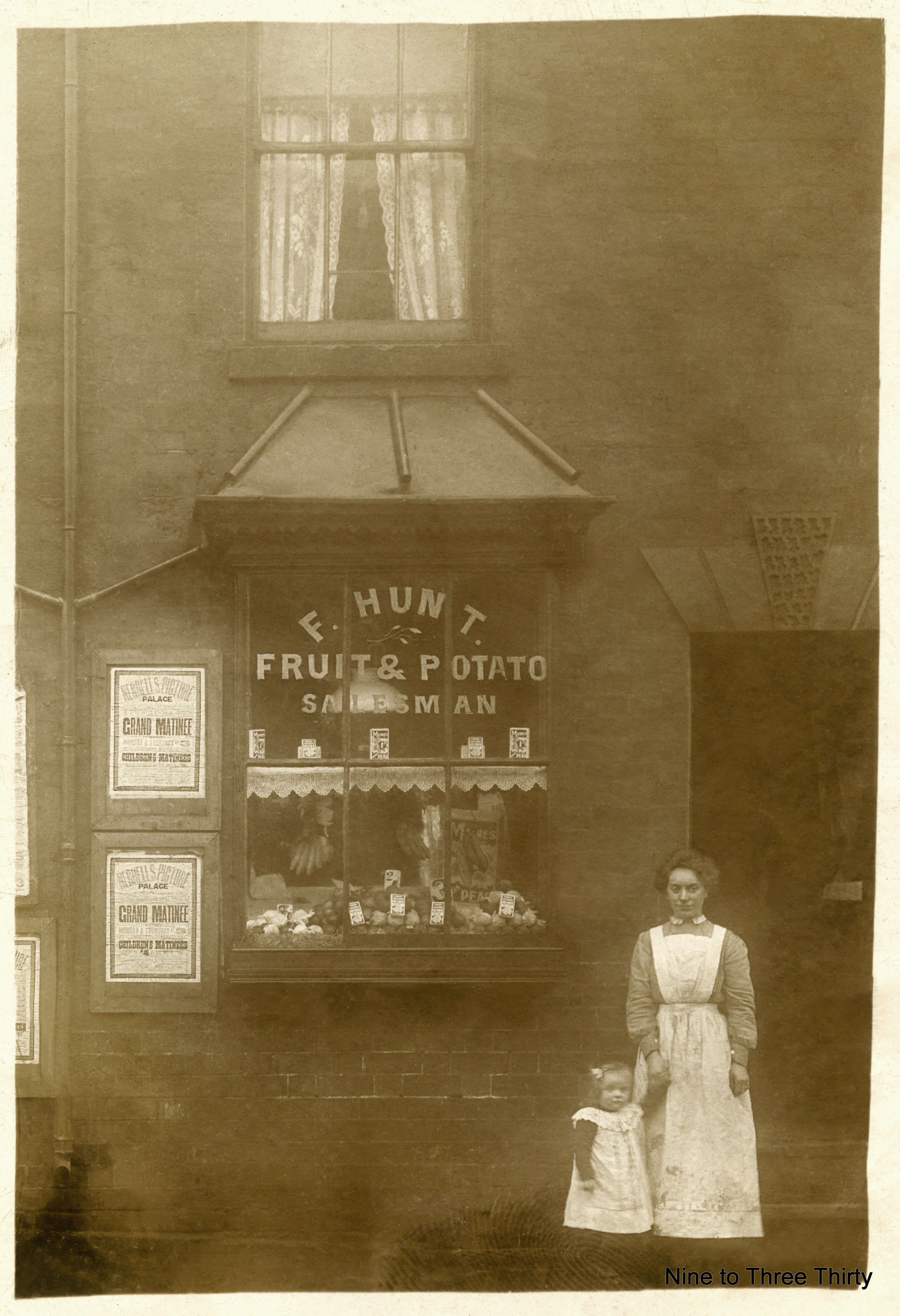 fred hunt's greengrocers shop long acre nechells