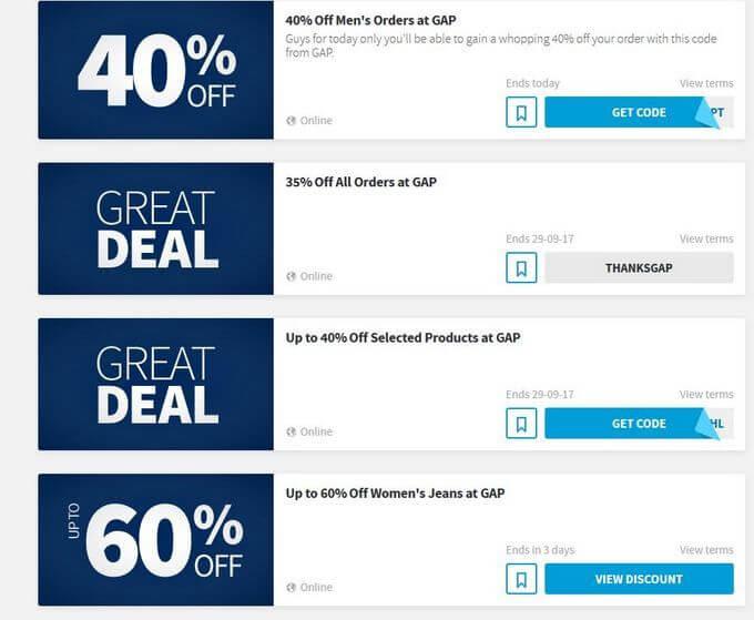 discount codes on vouchercloud