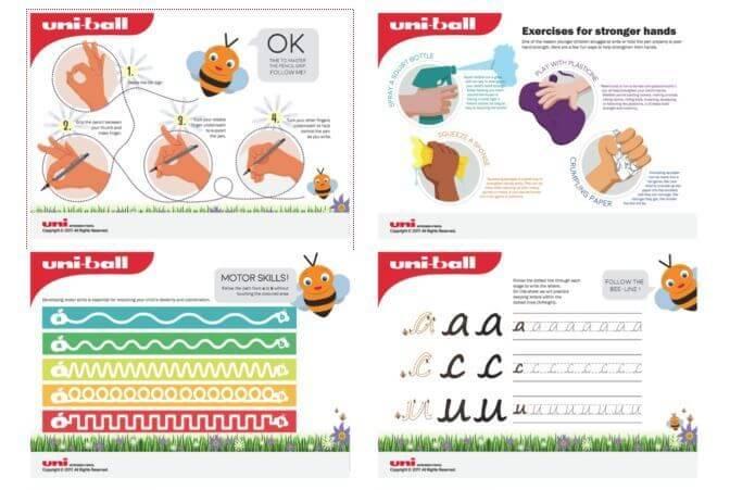 uniball worksheets