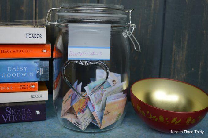 happiness jars