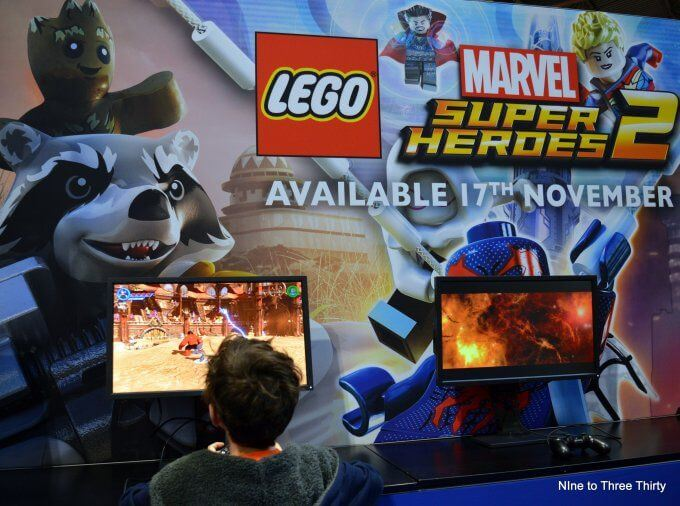Warner Brothers Lego games