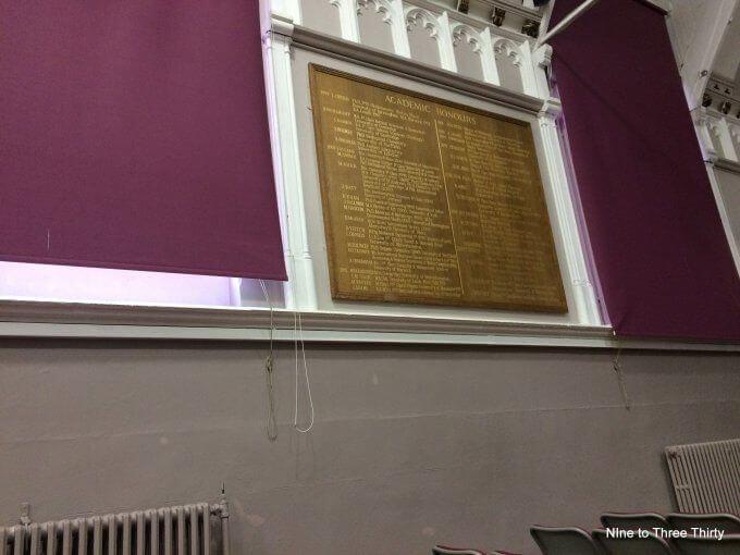 School Honours Board