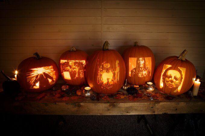Sky cinema reveal silver scream pumpkins for halloween