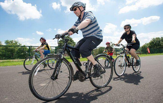 city rides closed road bike riding